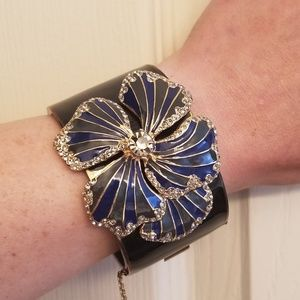 J. Crew jewelled enamel cuff